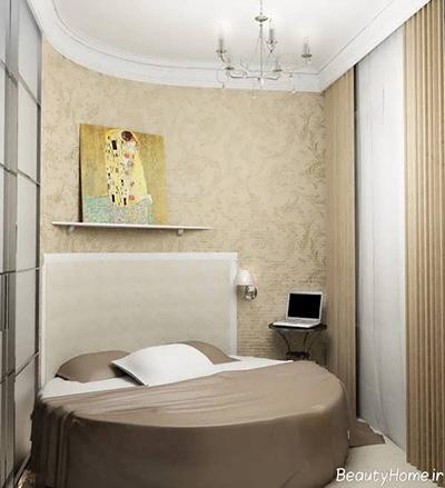 یک راه برای چیدمان اتاق های کوچک