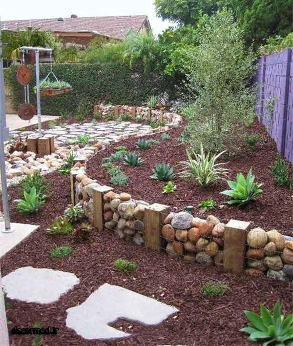 تزیین باغچه 1