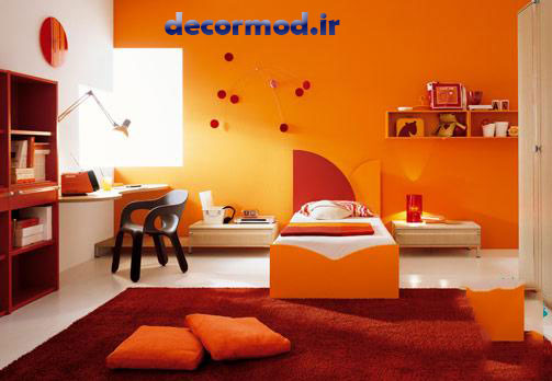 رنگ نارنجی 10