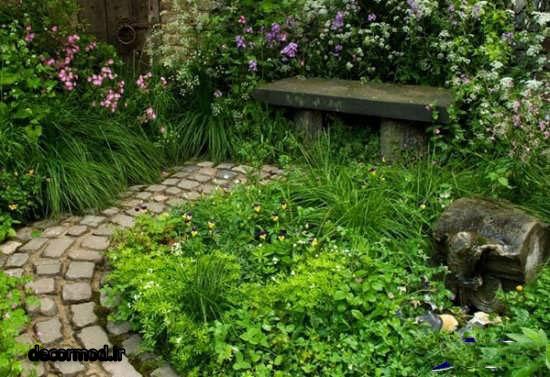 تزیین باغچه 2