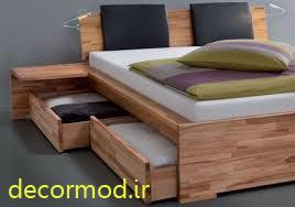 تخت خواب های چوبی 55