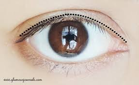 خط چشم کشیدن 1