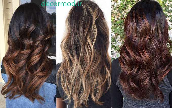 رنگ موها یظیظی