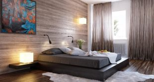 Black_bed_wood_clad_interior_wall_1_