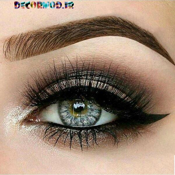 مدل آرایش چشم و ابرو نوروز 96 www.vaharan.ir 6 1 - مدل آرايش چشم به همراه تصاویری از جدید ترین آرایش های چشم برای مجالس مختلف در سال 2017