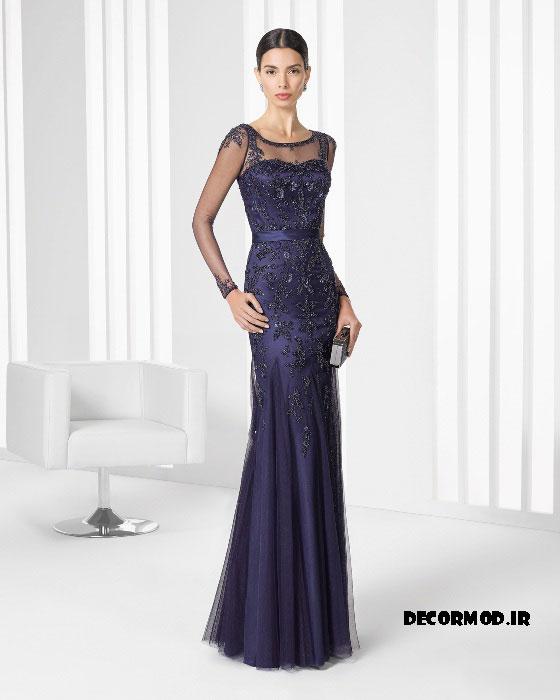 لباس مجلسی بلند 59599