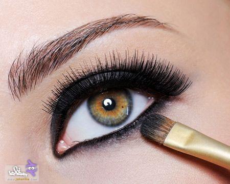 4 eyebrows www jahaniha com 18 1 1 - مدل آرايش چشم به همراه تصاویری از جدید ترین آرایش های چشم برای مجالس مختلف در سال 2017