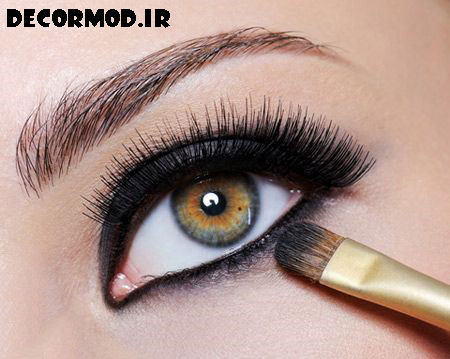 4 eyebrows www jahaniha com 18 2 - مدل آرايش چشم به همراه تصاویری از جدید ترین آرایش های چشم برای مجالس مختلف در سال 2017
