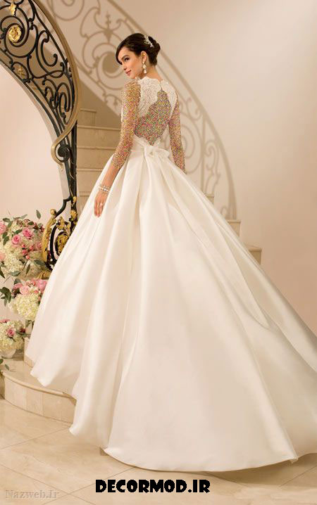 مدل لباس عروس 3