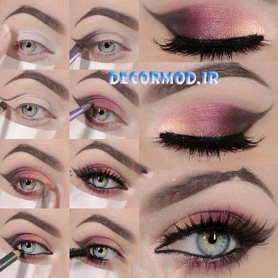 Eyeshadow 4 1 - مدل آرايش چشم به همراه تصاویری از جدید ترین آرایش های چشم برای مجالس مختلف در سال 2017