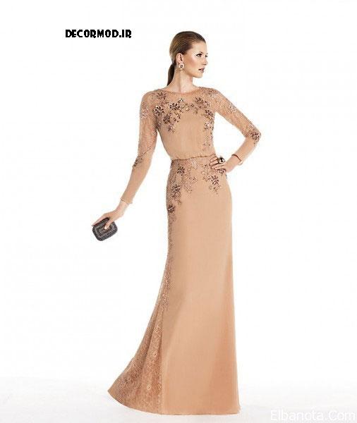 لباس مجلسی بلند 3633