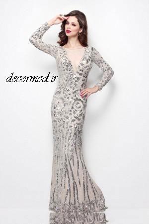 مدل لباس مجلسی 2017 7337