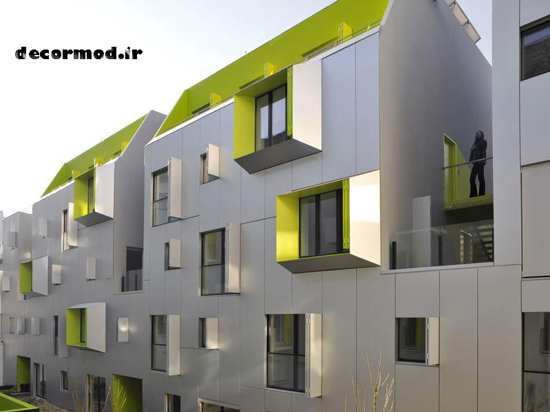 نمای ساختمان 2552