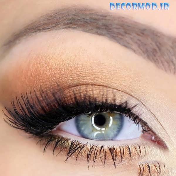 Simple eye makeup 10 1 - مدل آرايش چشم به همراه تصاویری از جدید ترین آرایش های چشم برای مجالس مختلف در سال 2017