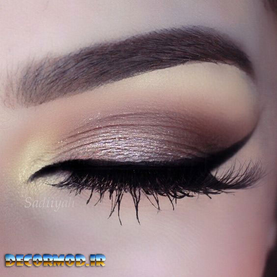 makeup 4 068 2 - مدل آرايش چشم به همراه تصاویری از جدید ترین آرایش های چشم برای مجالس مختلف در سال 2017