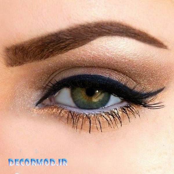 makeup eye 12 1 - مدل آرايش چشم به همراه تصاویری از جدید ترین آرایش های چشم برای مجالس مختلف در سال 2017