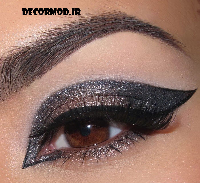 makeup RouzeGar.Com 35 1 - مدل آرايش چشم به همراه تصاویری از جدید ترین آرایش های چشم برای مجالس مختلف در سال 2017