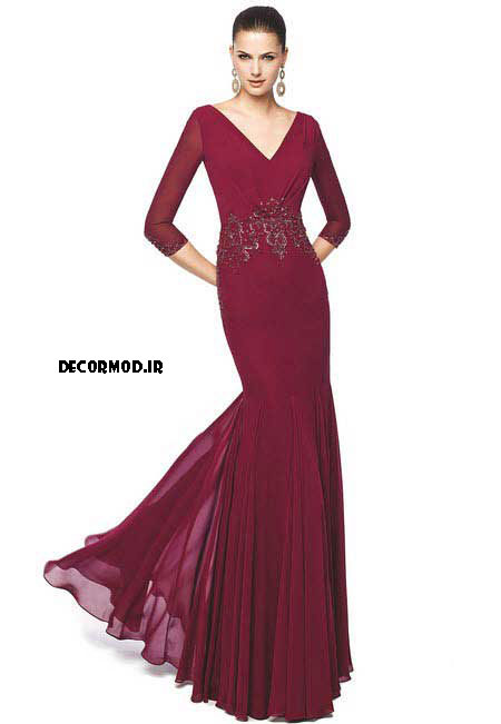 لباس مجلسی بلند 377373