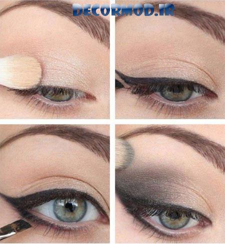 model eye makeup 11 1 - مدل آرايش چشم به همراه تصاویری از جدید ترین آرایش های چشم برای مجالس مختلف در سال 2017