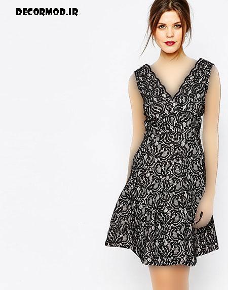 مدل لباس کوتاه 7655
