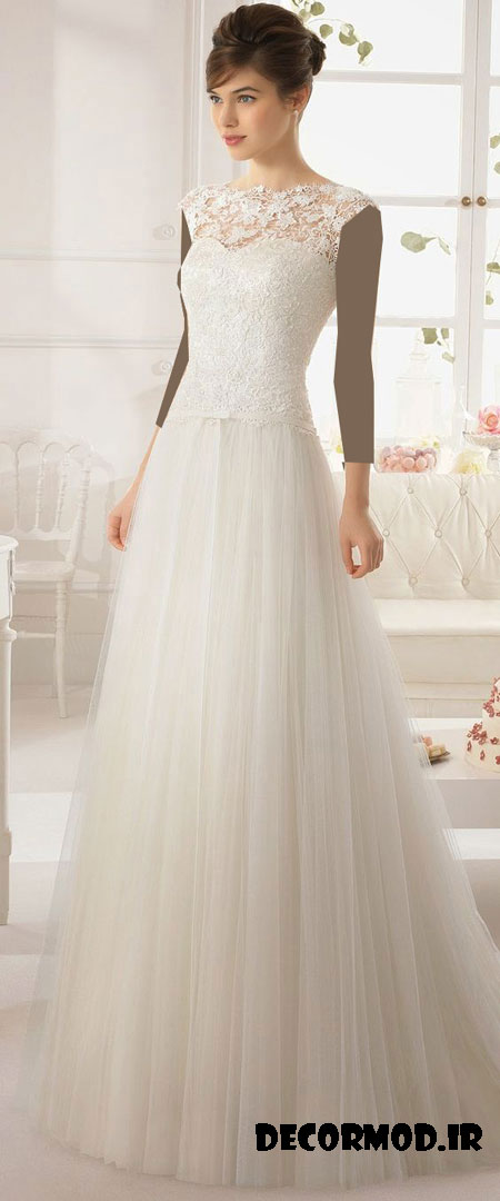 مدل لباس عروس 1551