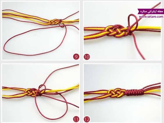 طرز ساخت دستبند با مهره 0080808