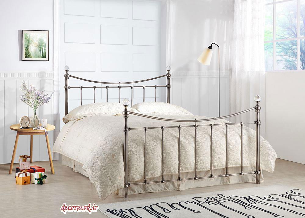 تخت خواب فلزی جدید 366336