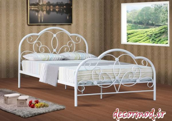 تخت خواب فلزی جدید 2882