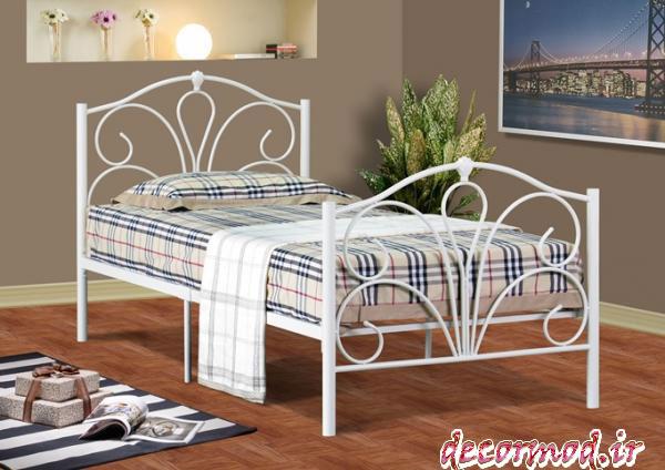 تخت خواب فلزی جدید 5151