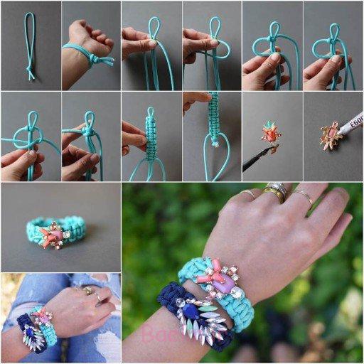 طرز ساخت دستبند با مهره 989898