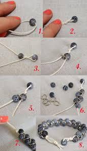 طرز ساخت دستبند با مهره 8686