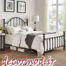 تخت خواب فلزی جدید 2662