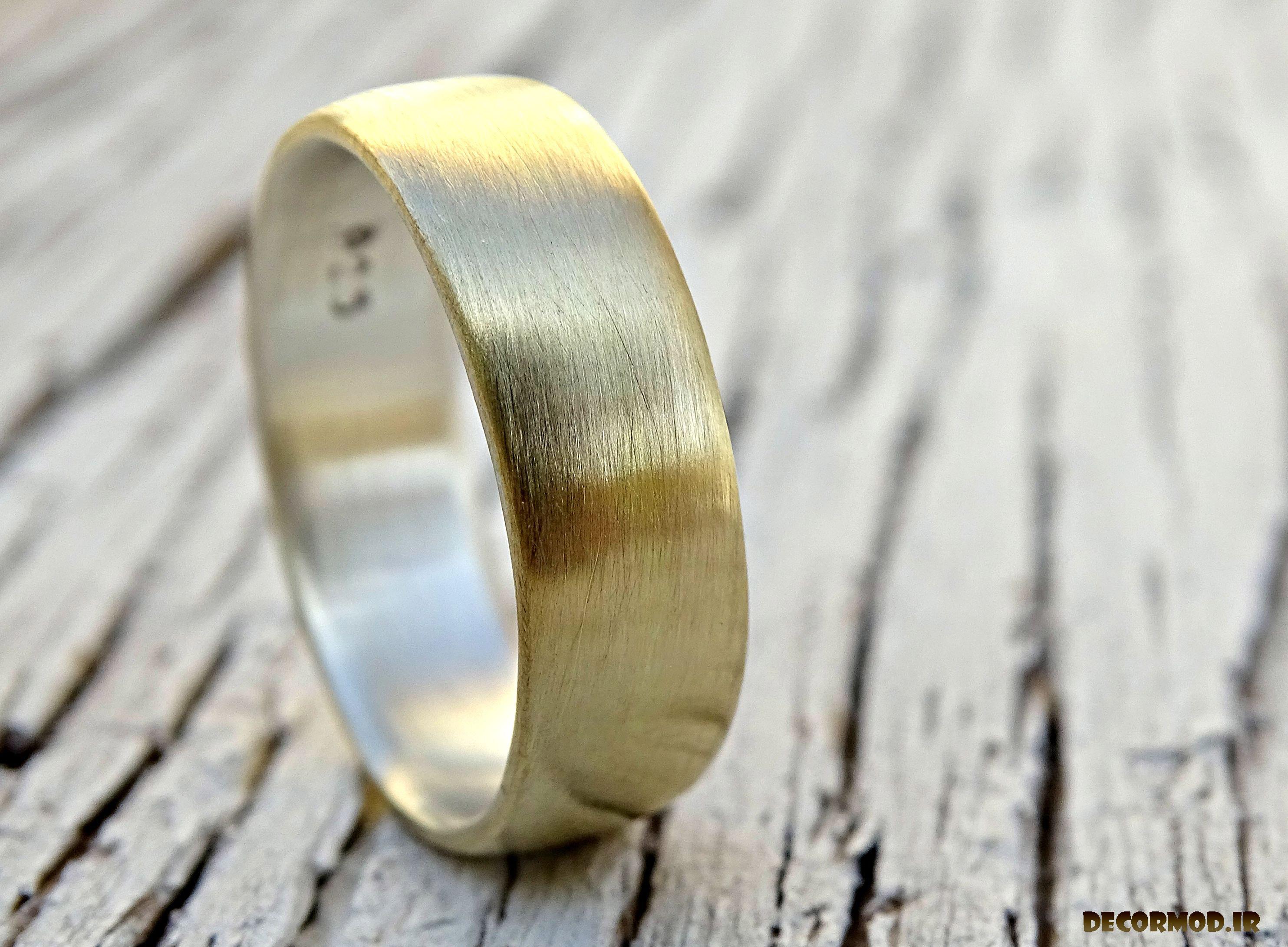 انگشتر نقره مردانه دست ساز 1