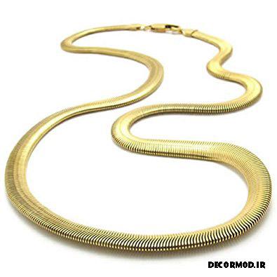 گردنبند مردانه طلا 5
