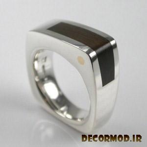 انگشتر نقره مردانه دست ساز 2