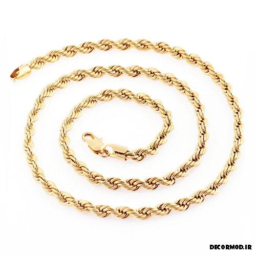 گردنبند مردانه طلا 13