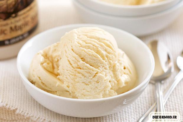 طرز تهیه بستنی بدون ثعلب 2