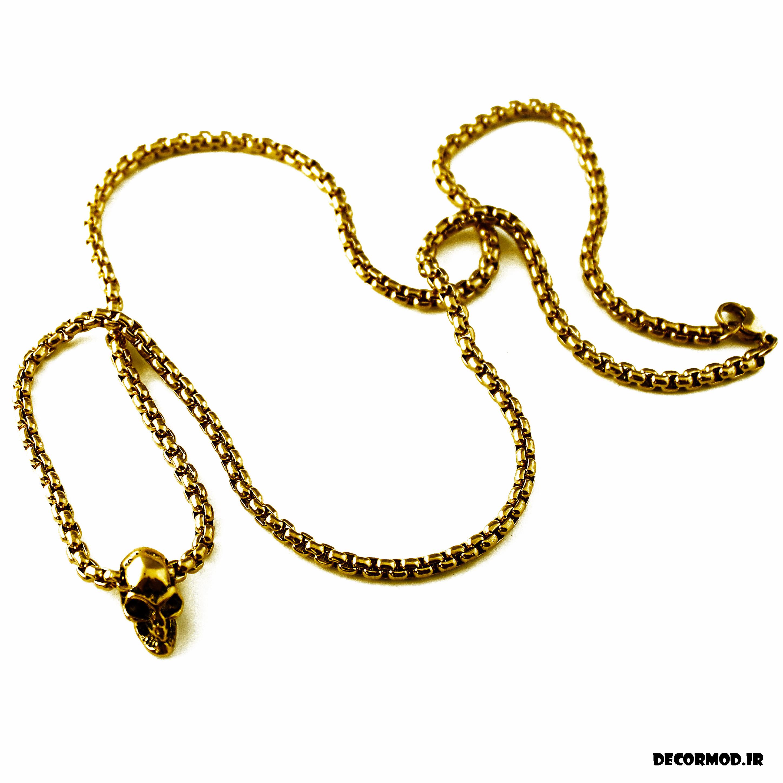 گردنبند مردانه طلا 47