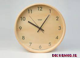 ساعت دیواری ساده 17