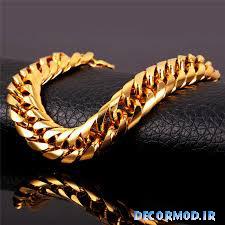 گردنبند مردانه طلا 28