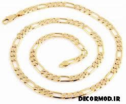 گردنبند مردانه طلا 30