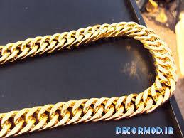 گردنبند مردانه طلا 33