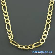 گردنبند مردانه طلا 37