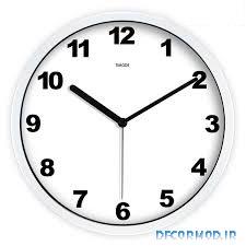 ساعت دیواری ساده 4