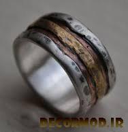 انگشتر نقره مردانه دست ساز 8