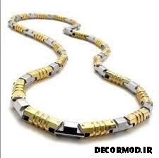 گردنبند مردانه طلا 22