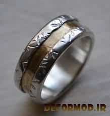 انگشتر نقره مردانه دست ساز 10