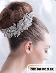 مدل مو عروس 9
