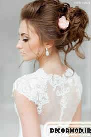مدل مو عروس 6