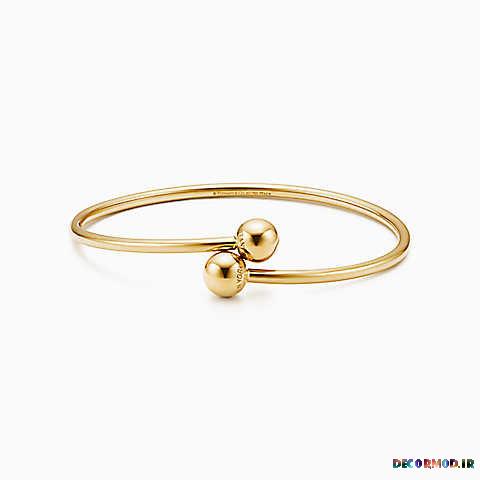 tiffany hardwear ball bypass bracelet 37926833 969565 ED M - دستبند طلا + تصاویری از جدید ترین مدل های دستبند های طلا